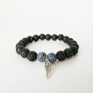 Náramek s křídlem Jade